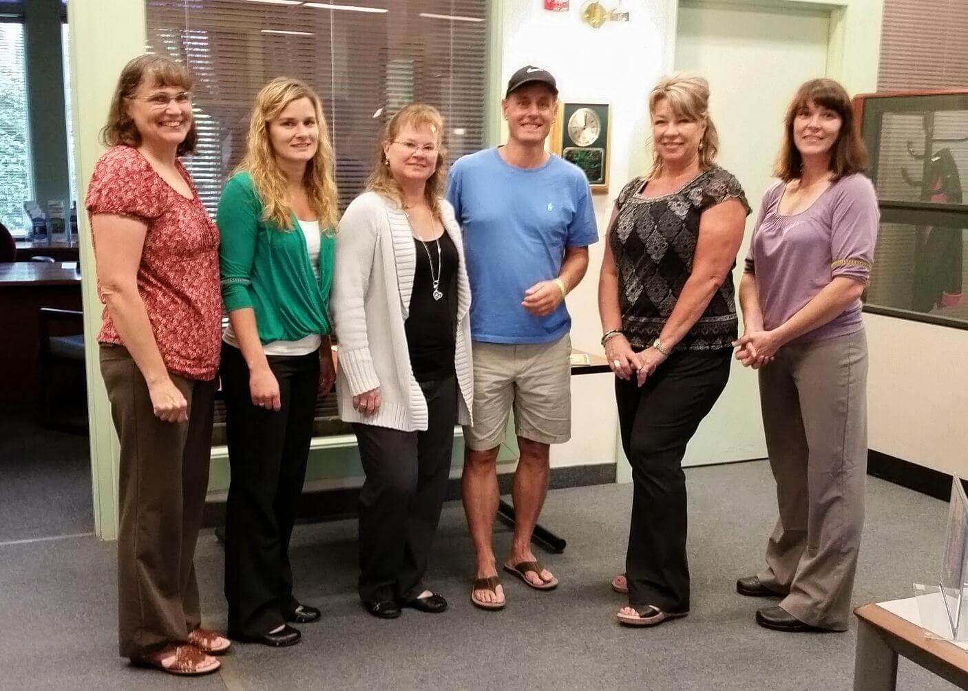 NSB employees group photo